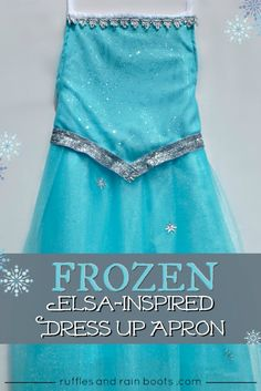 FROZEN Elsa Costume Tutorial