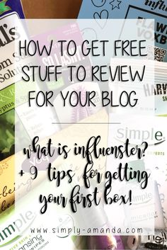 What is Influenster? Learn what it is and how you can use it to get free stuff to review for your Instagram, blog, or YouTube channel. Plus 9 tips for getting your first box!