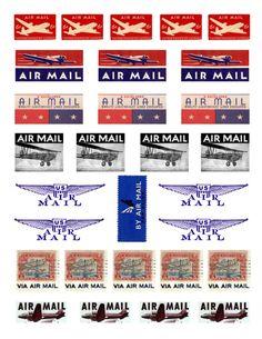ハンドメイド雑貨(シール) | 0-ゼロ-からはじめる海外郵便