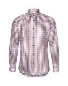 Ein Hemd von Selected Homme mit kariertem Muster in einer tollen verblassten Farbkombination. Der Button-Down Kragen, sowie die Manschetten mit den dunklen Knöpfen verleihen dem Hemd einen Casual Look. Kombiniert zu Jeans ist der Alltagslook perfekt.