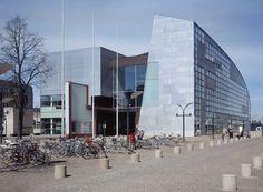 Museum of Contemporary Art  | Kiasma Museum of Contemporary Art - Steven Holl Helsinki - e-architect