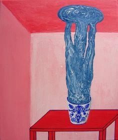 Suzana Lenon Mosná: Maľby Viera, My Arts, Vase, Paintings, Ceramics, Architecture, Illustration, Home Decor, Ceramica