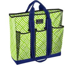 Scout Pocket Rocket- a multi-pocketed tote, Leave it to Weaver-Green $45    Perfect for padel, paddle, or tennis!
