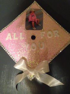 Graduation cap decoration. In memory of dad.   Crafty ...