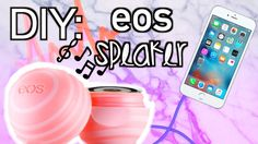 DIY: EOS SPEAKER!  Order your empty EOS containers here  https://www.etsy.com/listing/470062701/lip-balm-holder-containers-diy-lip-balm?ref=listings_manager_grid