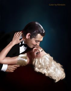 https://flic.kr/p/vAjsMD | Jean Harlow and Clark Gable