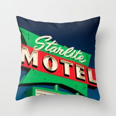 TITLE: Arizona Starlite  LOCATION: Los Angeles, California    DETAILS:  • Indoor pillow case only, no insert is included  • Double sided print $39.36