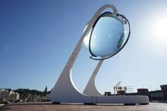 Rawlemon Spherical Glass Solar energy generator 1 - would be wonderful sculpture in the yard with different frame