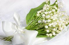 lub lilia z doliny bukiet Zdjęcie Seryjne