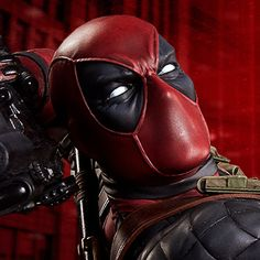 Marvel Premium Format™ Figure - Deadpool Heat-Seeker