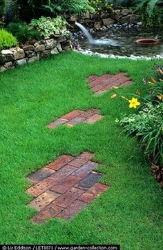 You are able to update your front yard design with the addition of shrubs, walkways, gardens to allow it to be colorful. It gives a clean and fresh appearance. #LandscapingIdeas