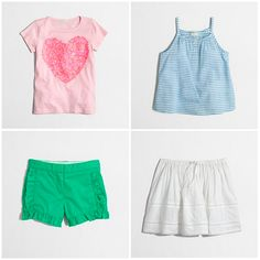 Cute girls clothes from J.Crew Factory