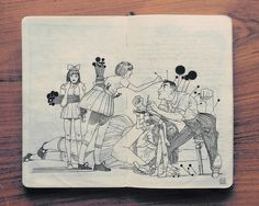 2.2 Sketchbook 2014, Jared Muralt (Suiza)