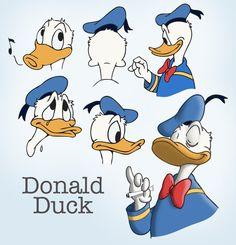 Donald Duck by PandaAGoGo.deviantart.com