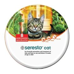 Seresto Cat Collar - Seresto For Cats 10 Weeks Of Age And Older. Bayer has taken the active ingredient from...