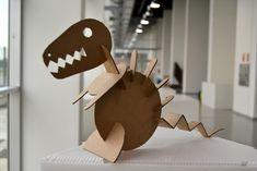 Cardboard Dinosaur | milimbo