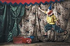 Performer   On the stage   Circus   Colour and pattern   Geometrics   Inspiration for the decorating feature, Livingetc October 2015