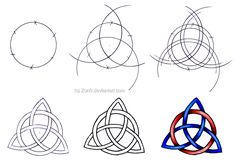 Made: Jul 14, 2005 This is a little tutorial on how to draw a triquatra. First of, I'm Norwegian so I might use the wrong words for some stuff, but it's basically understandable What you ...