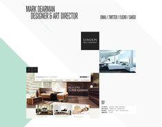 Mark Dearman portfolio website