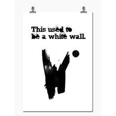 White Wall, i gruppen Tavler & Plakater / Sitat hos AB Interior Design Inspiration, Decor Interior Design, Poster Wall, White Walls, Scandinavian Design, Home Art, Wallet, Words, Prints