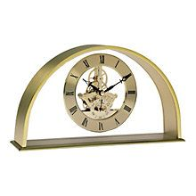 Gold Half Moon Carriage Clock - Product number 8181977