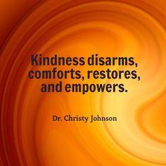 The Power of Kindness!  #SoulPOV #SavvyBIZSolutions