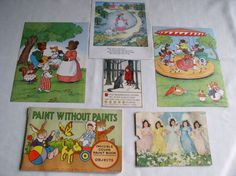 Ephemera Lot Children's Vintage Items Vintage by vintage541