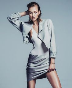 Karlie Kloss by Sebastian Kim for Vogue Korea May 2014