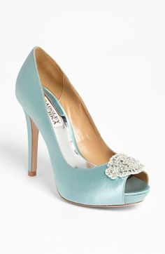 Something Blue wedding heels?  Badgley Mischka Goodie Pump available at #Nordstrom