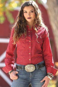 CRUEL GIRL CTW7001001 RODEO Western Barrel ARENA FIT SHIRT COWGIRL NWT Medium #CruelGirl #Western
