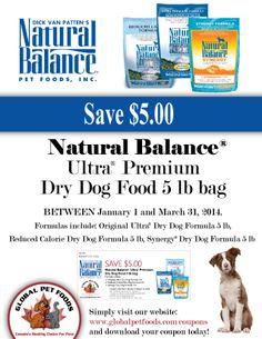 California Natural Dog Food Coupons