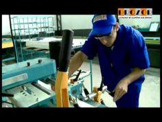 Fabrica da PROZOR - Caixilhos de Aluminio sob Medida