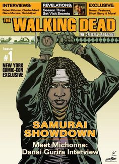 Magazine News: NYCC Exclusive Cover of The Walking Dead, The Official Magazine #1