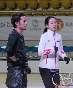 With Mao Asada : Denis Ten and Friends 2014