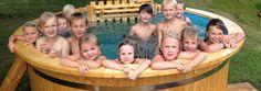 vasca idromassaggio in legno modello base. Trasporto veloce, prezzi bassi