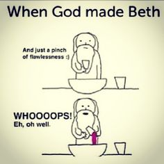 so true. oh and don't forget beauty. ;) <3 @BethanyNoelms