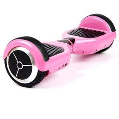 I REALLY want one of these to play on. Better make that two, the Cupcake is going to want one too. Self Balancing Hoverboard (Pink)