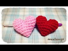 How to make a Crochet 3D Puffy Heart Tutorial. Great gift for your best friend who is a woman or man. Fun present for boy or girl birthday. Teresa will show ...