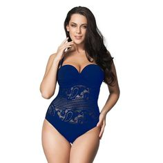 815278e7d2f Sexy High Cut Swimsuit One Piece Women Plus Size Brazilian Monokini – Beach  Blondes