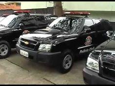 Polícia Civil Estado de São Paulo. Novo Padrão Viaturas - Goe e Garra - Versão Completa