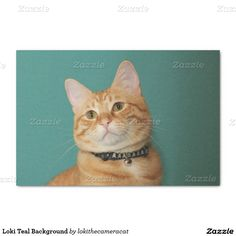 "Loki Teal Background 10"" X 15"" Tissue Paper"