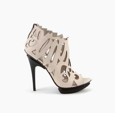 """Calligraffiti Shoe Off White Nappa 