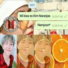 Even with the limited Spanish I know this is funny XD Seokjin, Namjoon, Hoseok, Memes Bts Español, Memes Br, Meme Faces, Funny Faces, K Pop, Bts Taehyung