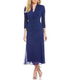 11c2109074afa Another navy option...Mother of the groom dress belk