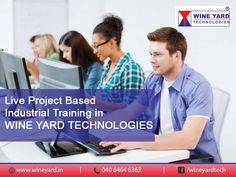 Live ‪#‎Project‬ Based Industrial ‪#‎Training‬ in Wineyard Technologies