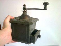 Vintage grinder spice grinder coffee by FindTreasuredVintage, $35.00