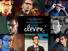 The 10th Doctor's glasses