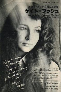 Music Life magazine, Kate Bush, 1978