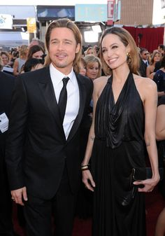 Brad and Angelina were all smiles tonight!