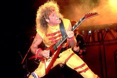 Sammy Hagar. The red rocker is a wild man both on his own or with his stint with Van Halen....